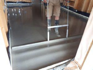 Applying Cemfloor over underfloor heating