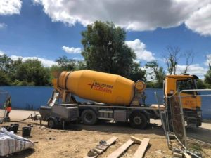 Pumping with Wiltshie Concrete
